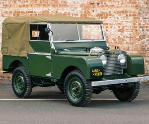 Land Rover Series 1 Perfectly Restored by Land Rover Classic