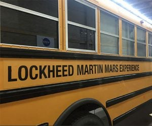 Lockheed Martin Mars Experience Bus is a Real Magic School Bus