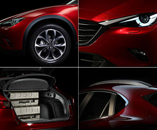 Mazda CX-4 Teased Ahead of Chinese Debut