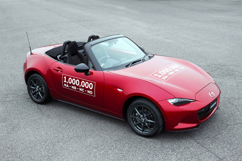 Mazda Celebrates Millionth MX-5 Built