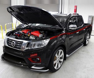 Custom Nissan Navara is Part Truck, Part GT-R