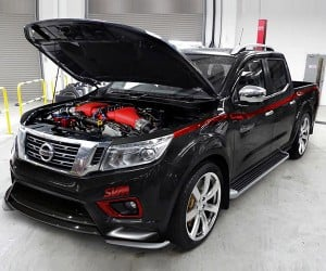 Custom Nissan Navara is Part Truck, Part GT-R