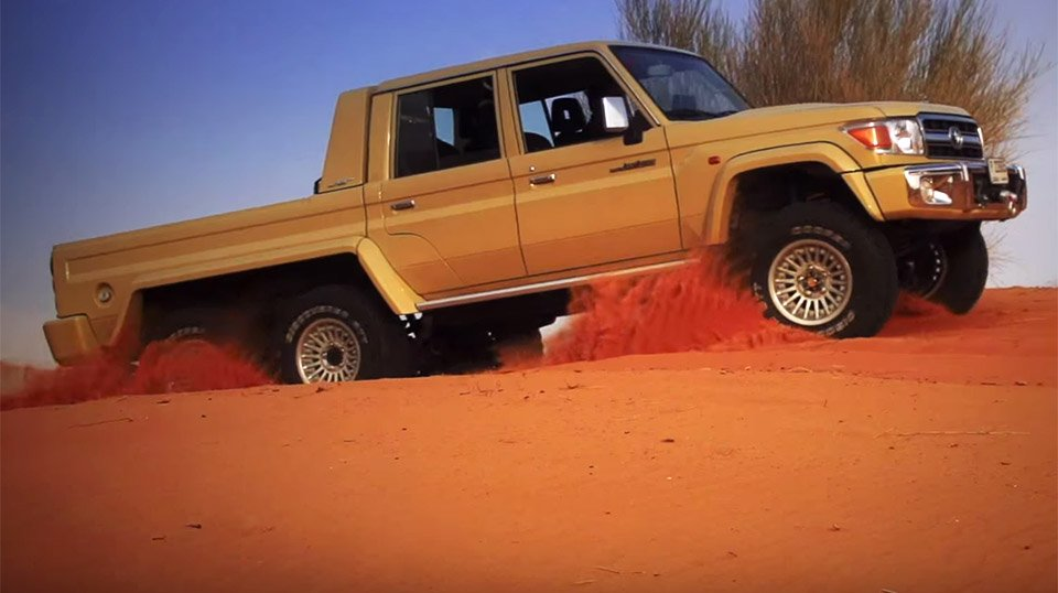 NSV 6×6 Toyota Land Cruiser Hauls 3 Tons of Arse