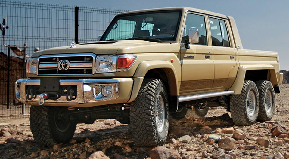 Nsv 6x6 Toyota Land Cruiser Hauls 3 Tons Of Arse