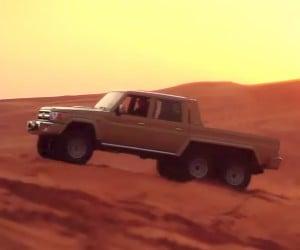 NSV 6×6 Toyota Land Cruiser Hauls 3 Tons of Arse