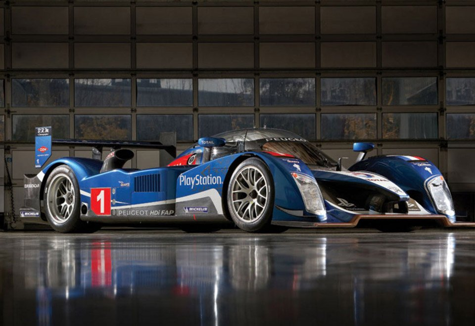 2008 peugeot 908 hdi fap le mans prototype up for auction 95 octane. Black Bedroom Furniture Sets. Home Design Ideas