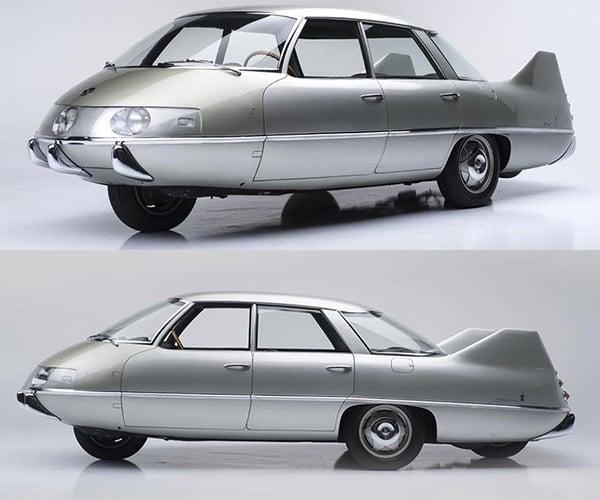 Concepts from Future Past: Pininfarina Model X