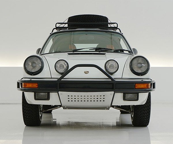 Epic 1985 Porsche 911 Rally Car: The Want is STRONG