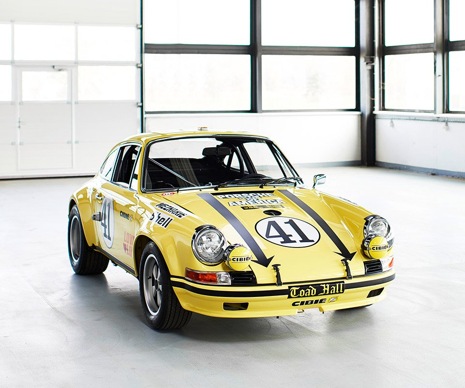 Le Mans Winning 1972 Porsche 911 Flawlessly Restored