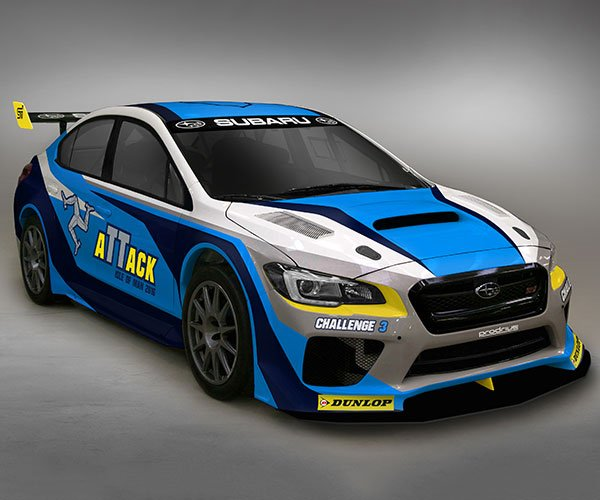 Subaru Shows Off Livery for Isle of Man Time Attack Car
