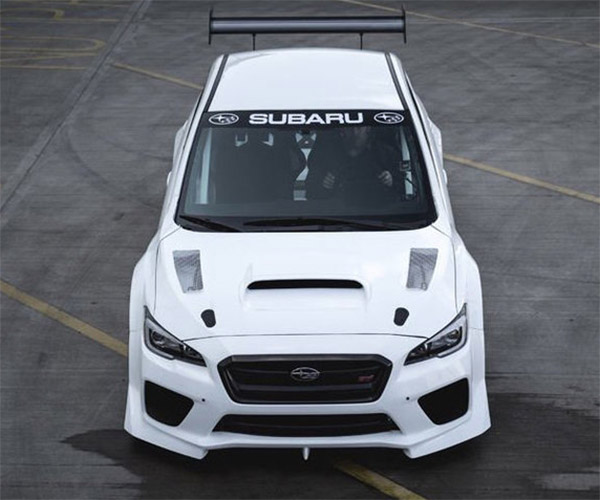 Subaru Aims for Isle of Man Record with New WRX STi Racer