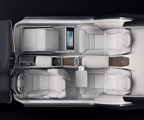 Volvo S90 Excellence Interior Concept is the Lap of Luxury