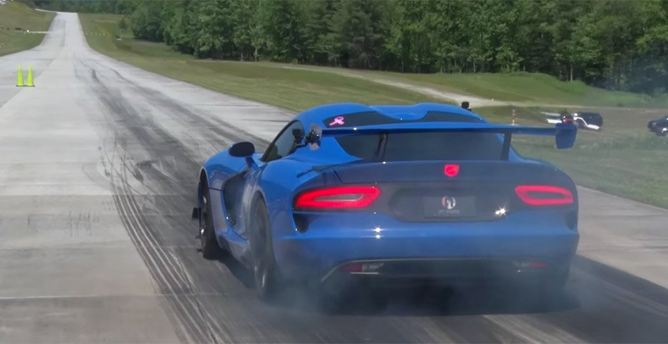 1500hp Viper Aims for 200 mph Half-Mile