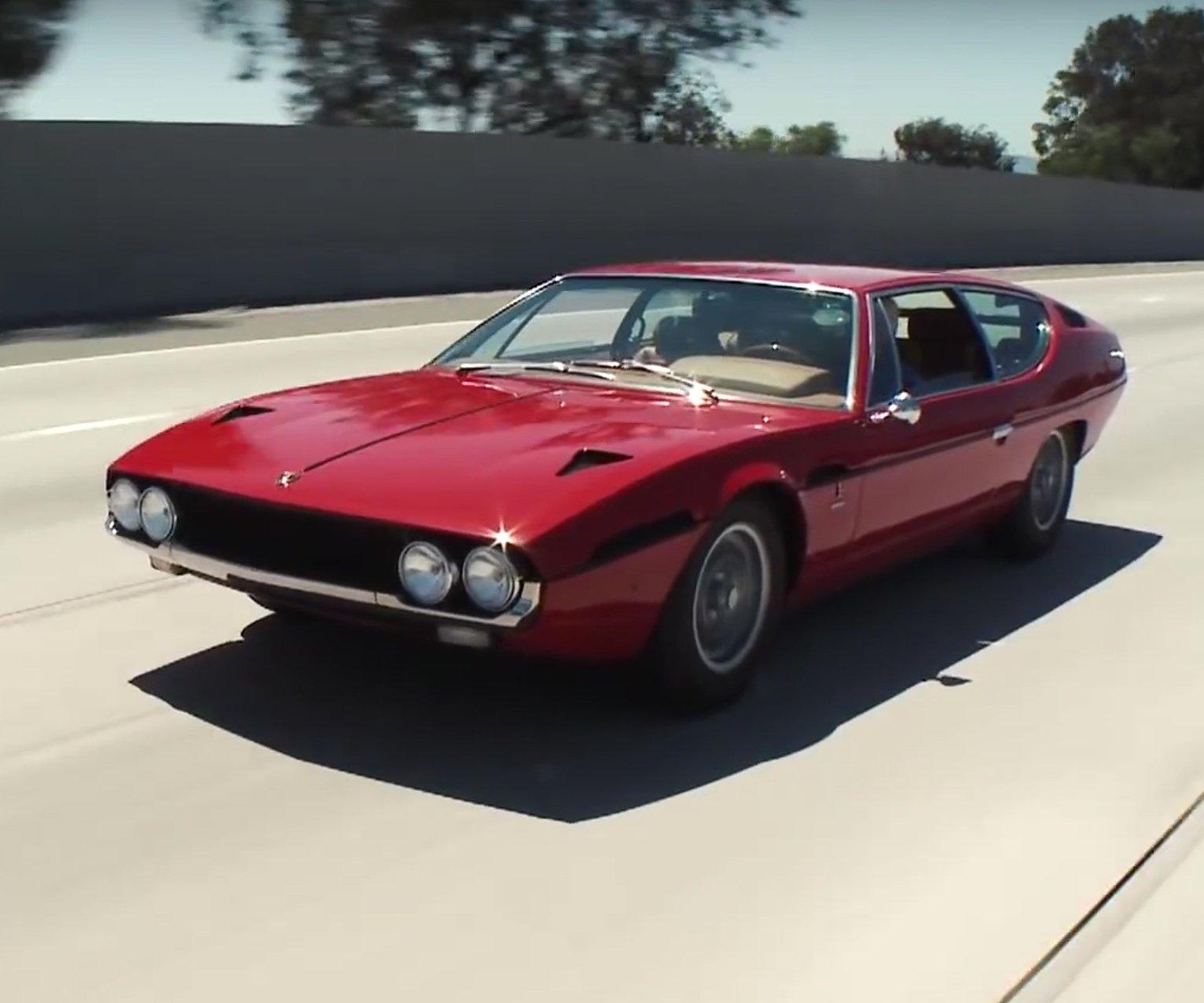 Leno Unveils a Gorgeous Revamped Lamborghini Espada