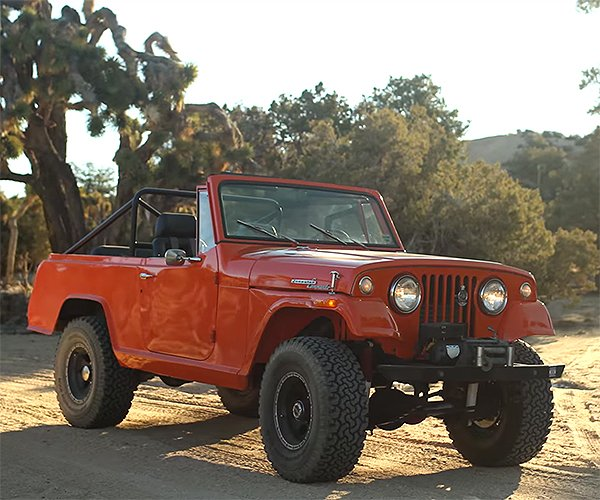 Go Commando with This Jeepster Off-Road Classic
