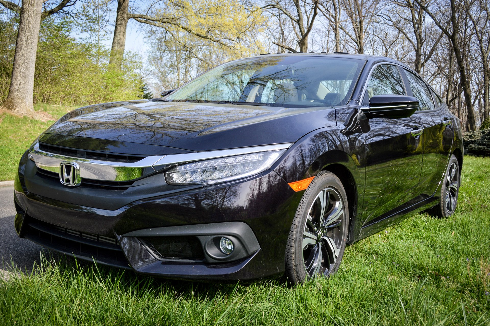 Review 2016 Honda Civic Touring 95 Octane