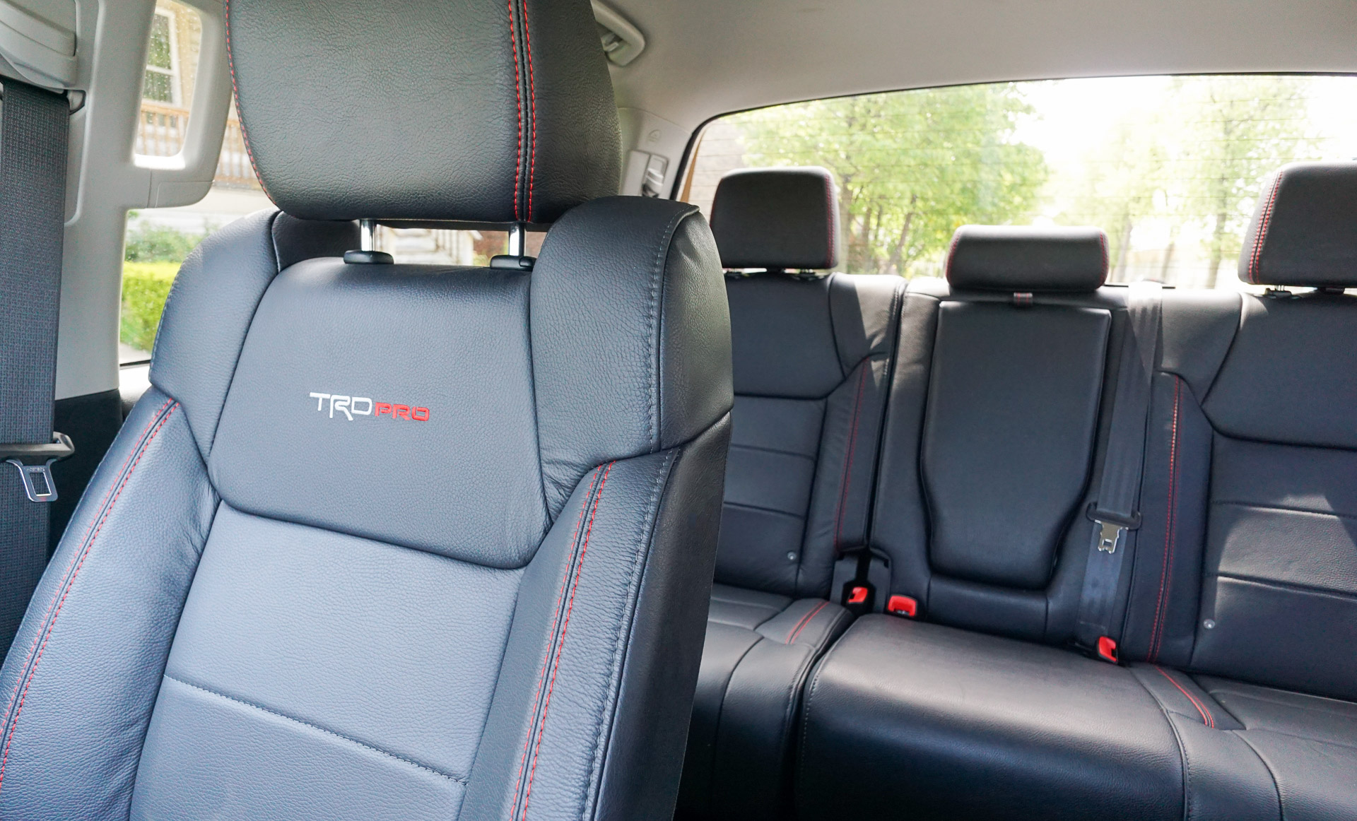 tundra trd pro leather seats. Black Bedroom Furniture Sets. Home Design Ideas