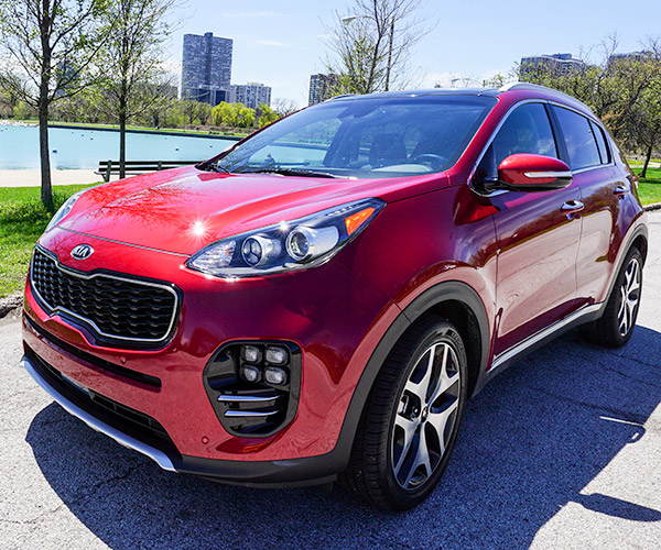 2017 Kia Sportage Transmission: Review: 2017 Kia Sportage SX Turbo