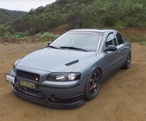 Crazy Modded Volvo S60 T5 Makes Some Swede Sounds