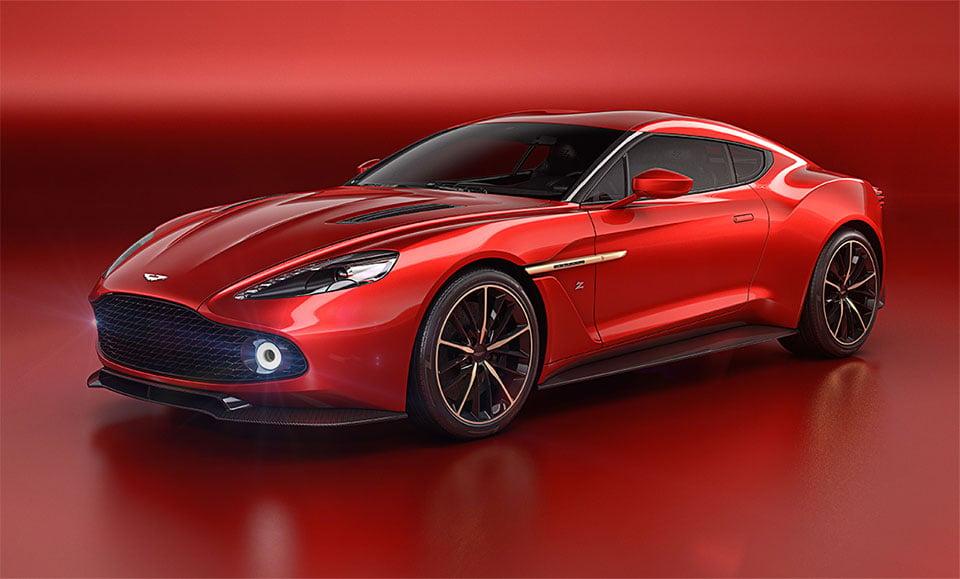 Aston Martin Unveils Devilish Vanquish Zagato Concept