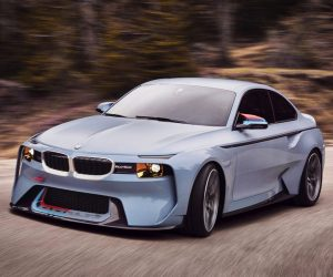 BMW 2002 Hommage is a '70s Throwback