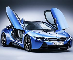 2017/2018 BMW i8 Tipped for More Power and a Facelift