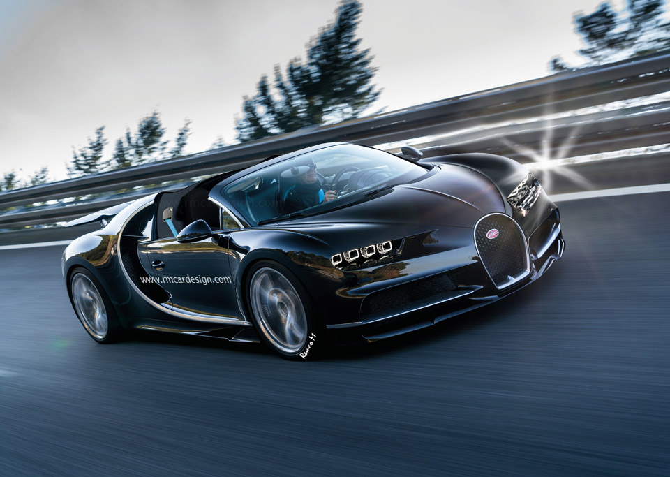 Bugatti Chiron Roadster Hinted at by CEO