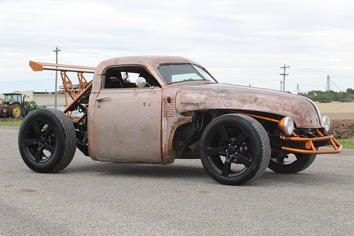 This '47 Chevy Rat Rod is Part Mercury Cougar