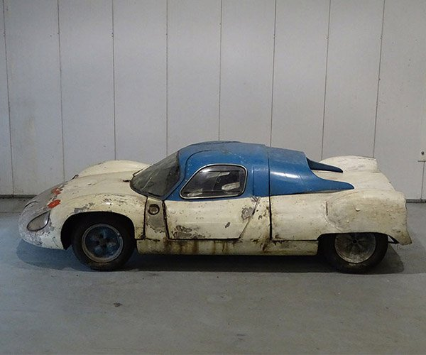 Costin Nathan Racecar Found After 45 Years in Hiding