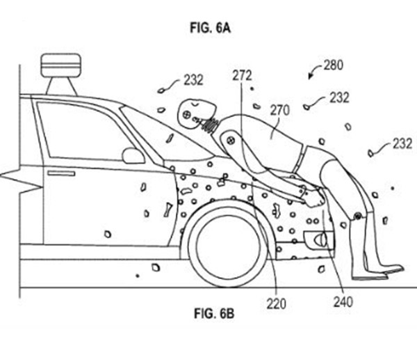 Google Patent App Shows Sticky Solution to Pedestrian Accidents