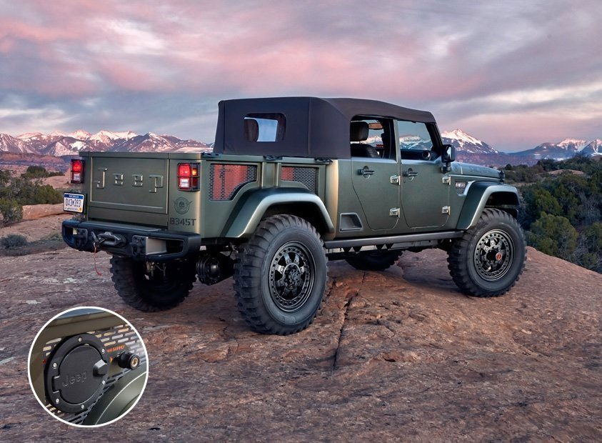Jeep Crew Chief 715 The Concept Jeep Should Build 95 Octane