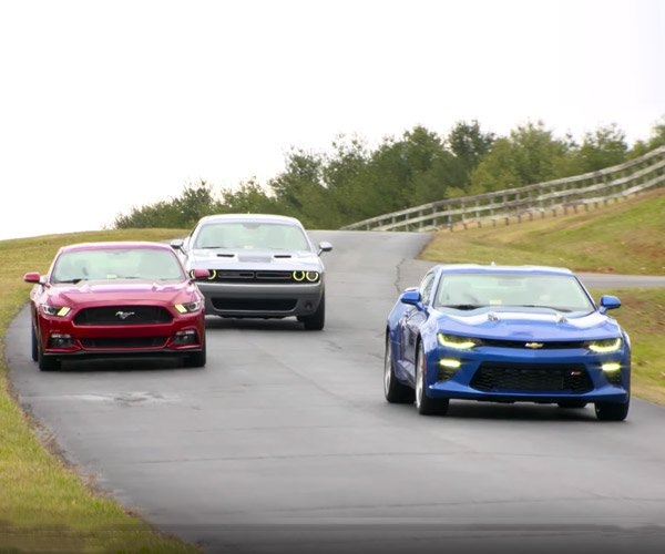 2016 Muscle Car Crash Tests Show Not All Are Created Equal