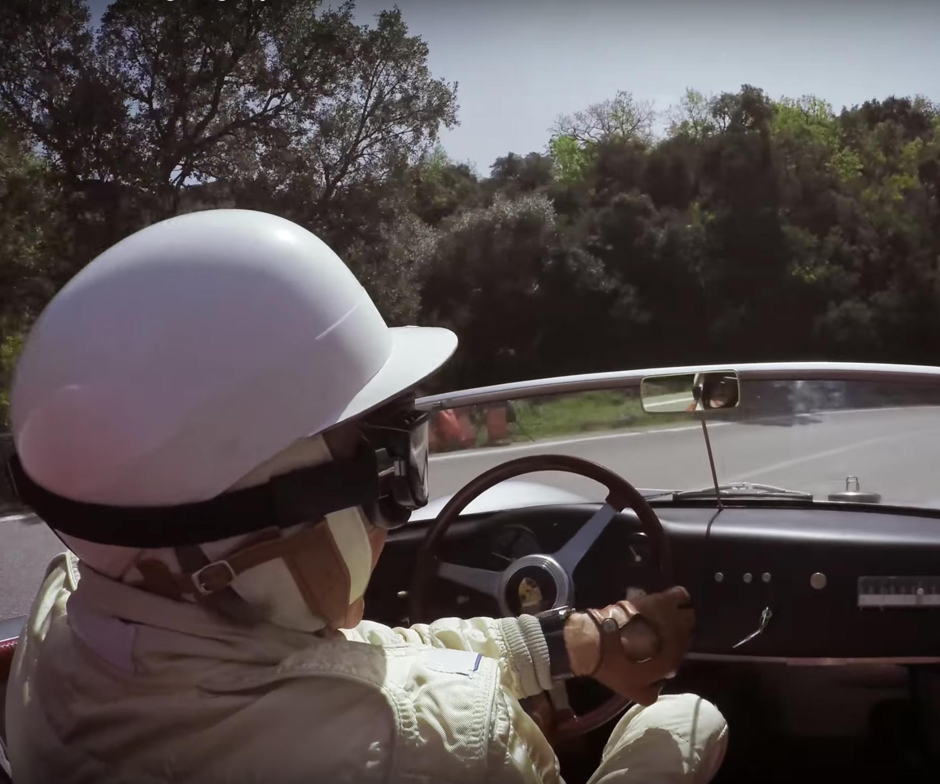 Racing Legend Derek Bell Tours Sicily in a Classic Porsche
