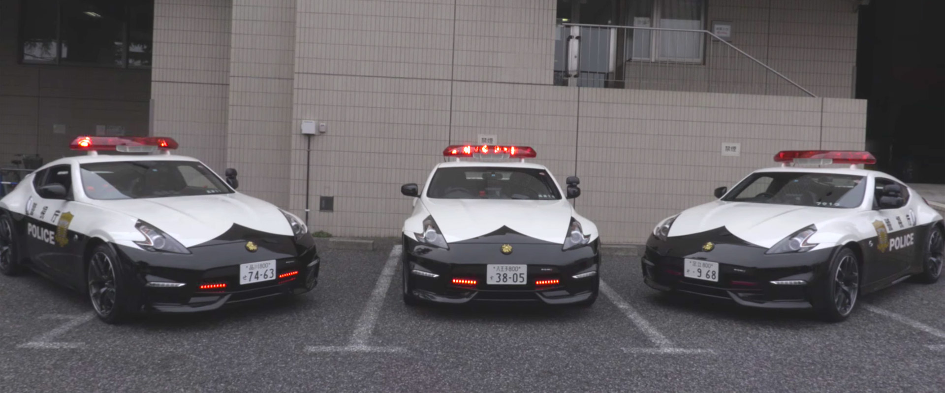 Nissan Gifts NISMO 370Z Patrol Cars to Tokyo Police - 95 ...