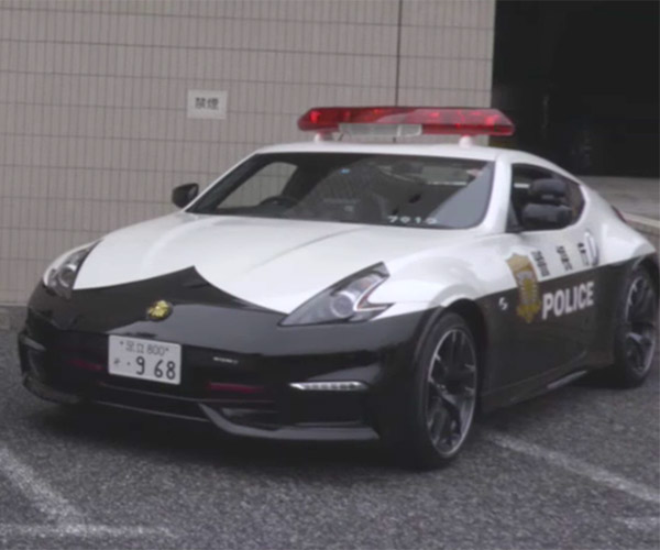 Nissan Gifts NISMO 370Z Patrol Cars to Tokyo Police