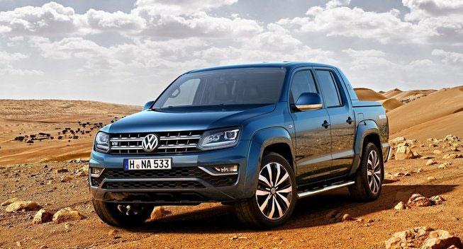 2017 Volkswagen Amarok Gets a V6 TDI Upgrade