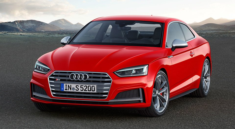 2017 Audi A5 and S5 Coupe