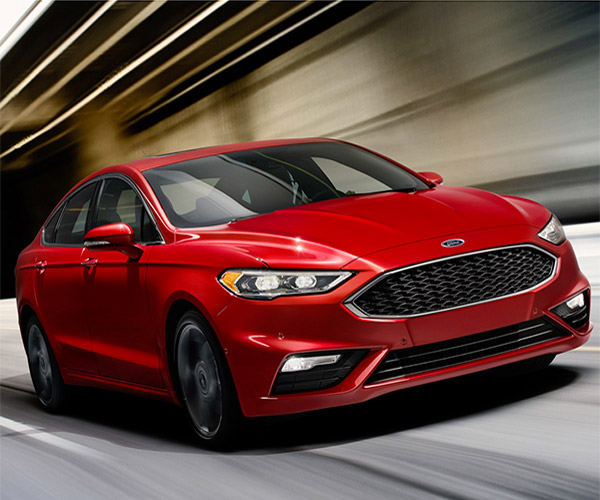 2017 Ford Fusion Sport Has Tons of Torque