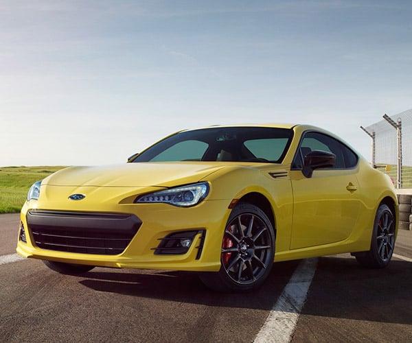 2017 Subaru BRZ Series.Yellow Edition is Yellow