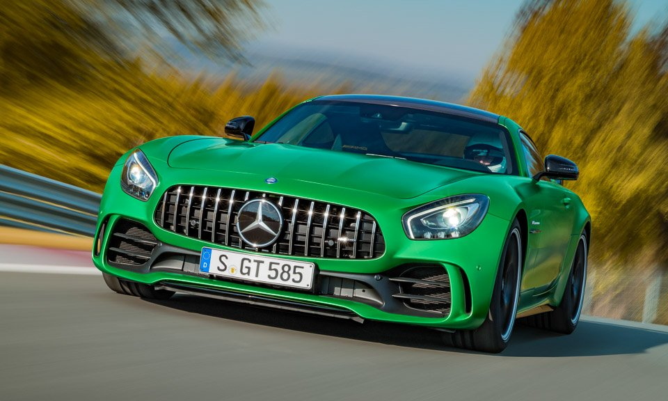 2018 Mercedes-AMG GT R: Green Monster from The Green Hell