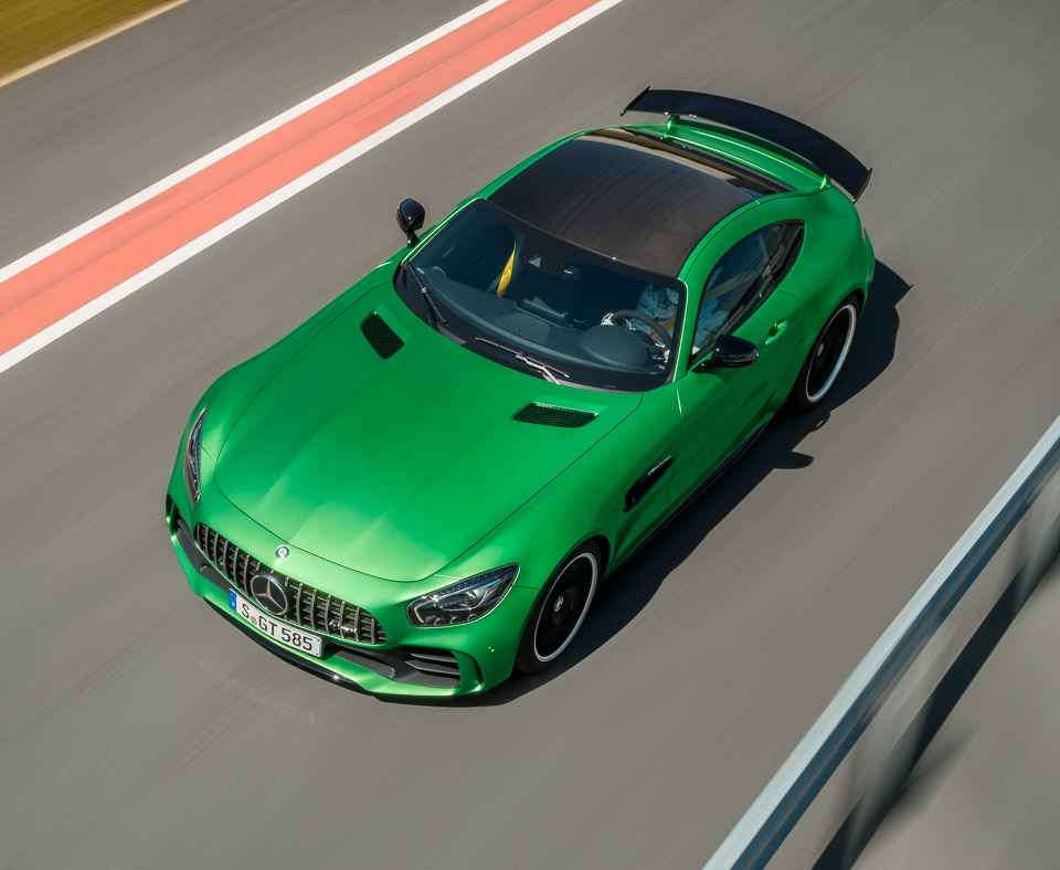 2018 mercedes amg gt r green monster from the green hell 95 octane. Black Bedroom Furniture Sets. Home Design Ideas