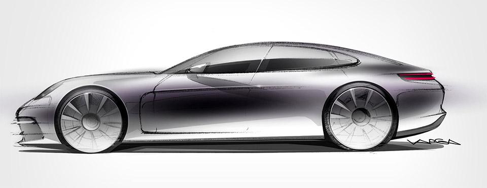 Porsche Teases Panamera Redesign