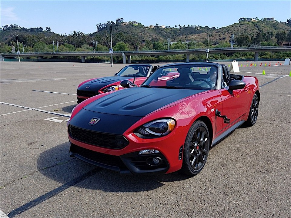 First Drive Review: 2017 Fiat 124 Spider