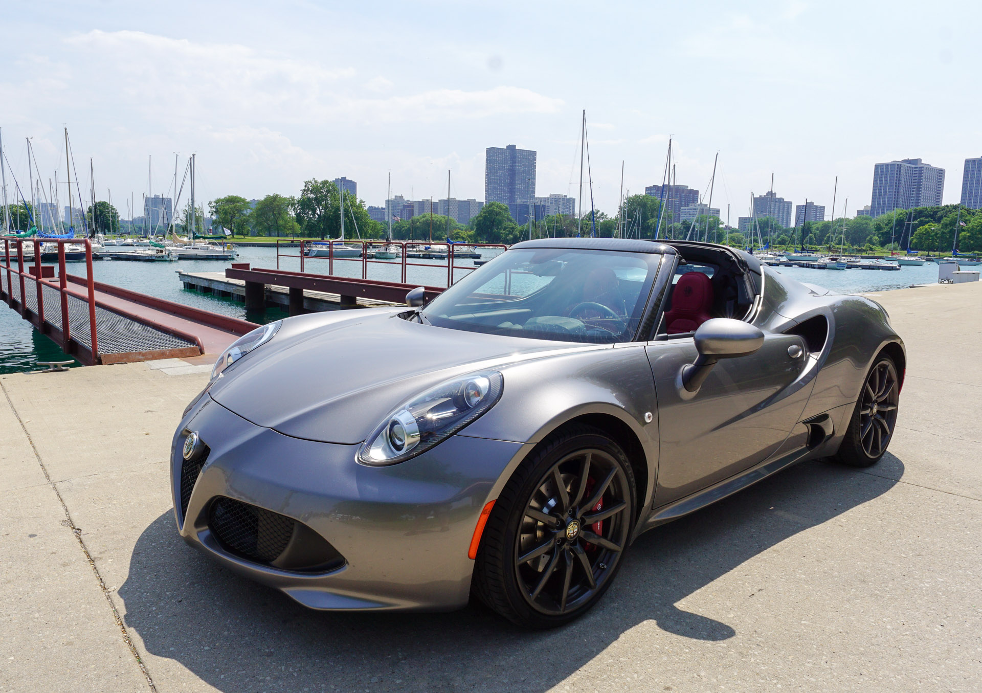 alfa romeo 4c spider review a tiny monster 95 octane. Black Bedroom Furniture Sets. Home Design Ideas