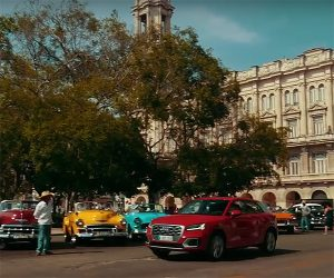 Cuban Cars and Scenery Steal Show from the Audi Q2