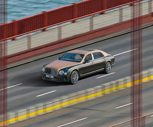 Bentley Gigapixel Image Captures Fancy Car from Afar