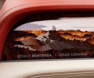 Bentley Bentayga Art Option Puts Mountains in the Dash