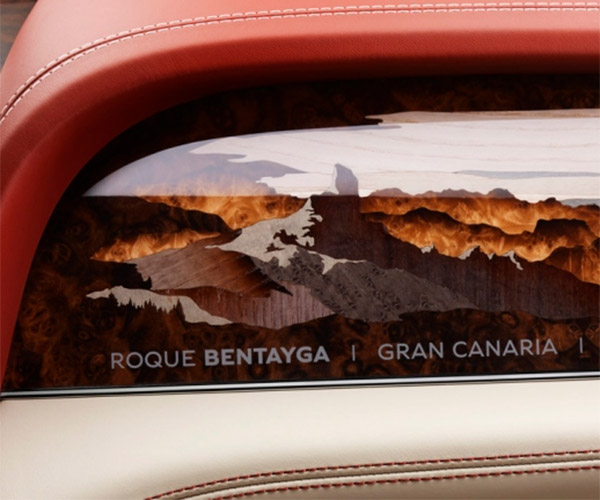 Bentley Bentayga Art Option Puts Mountains in the Dash