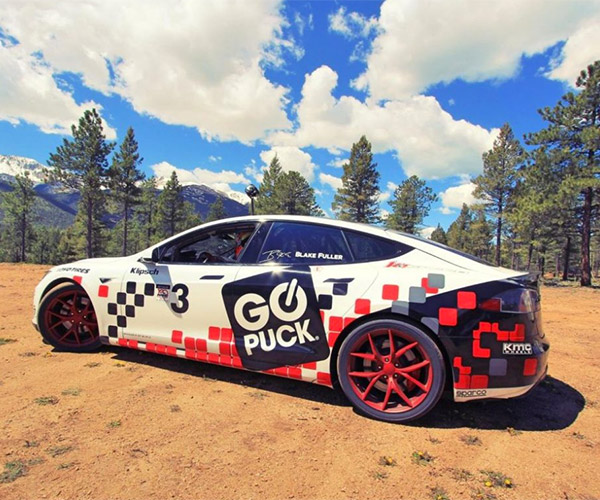 Production Tesla Model S Sets Class Record at Pikes Peak