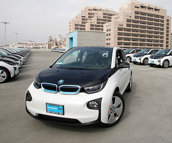 LAPD to Buy 100 BMW i3 EVs